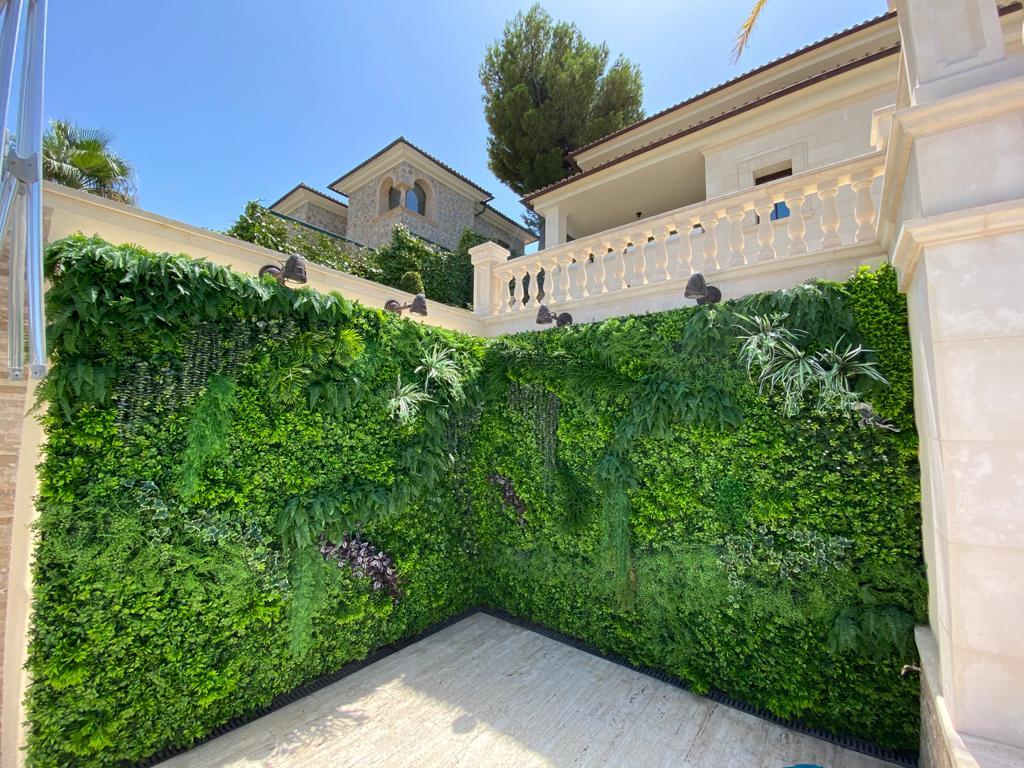 jardines verticales artificiales en mallorca